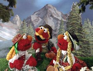 Elmo Goatherd Family (Elmo's World)