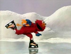 Elmo Ice Skating (Elmo's World)