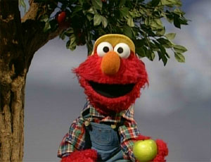 Elmo Picking Apples (Elmo's World)