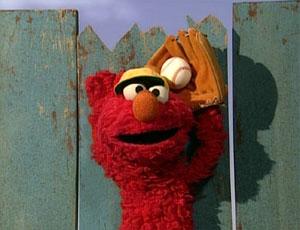 Elmo Playing Baseball (Elmo's World)