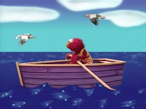 Elmo Rowing a 船, 小船 (Elmo's World)