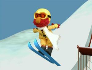 Elmo esquiar, esquí de fondo (Elmo's World)