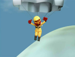 Elmo Skydiving (Elmo's World)
