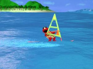 Elmo Windsurfing (Elmo's World)