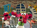 Elmo as Dixieland Band (Elmo's World)