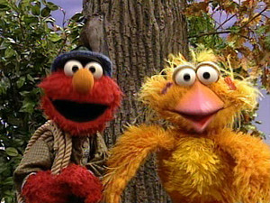 Elmo as Peter (Elmo's Musical Adventure: Peter and the Wolf)