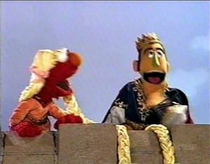 Elmo as Rapunzel (Elmo's World)