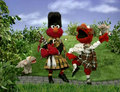Elmo as Scottish Dancers (Elmo's World)