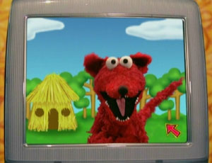 Elmo as The Big Bad নেকড়ে (Elmo's World)