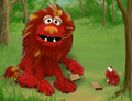 Elmo as The Lion and the Mouse (Elmo's World)