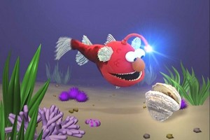Elmo as a Angler рыба (Elmo's World)