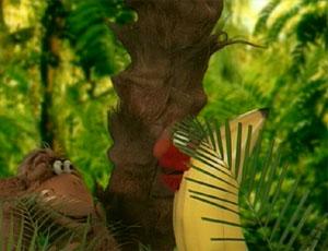 Elmo as a saging (Elmo's World)