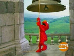 Elmo as a loceng Player (Elmo's World)