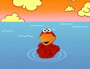 Elmo as a утенок (Elmo's World)