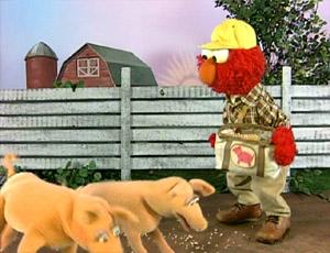 Elmo as a Farmer (Elmo's World)