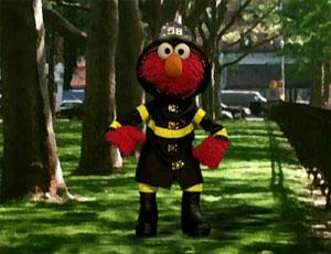 Elmo as a Firefighter (Elmo's World)