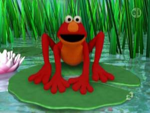 Elmo as a Frog (Elmo's World)