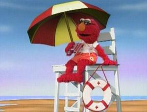 Elmo as a Lifeguard (Elmo's World)