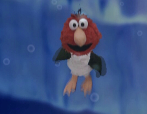 Elmo as a 企鹅 (Elmo's World)