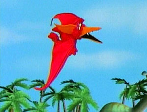 Elmo as a Pterosaur (Elmo's World)