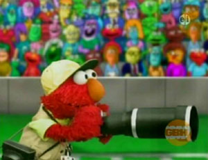 Elmo as a Sports Photographer (Elmo's World)