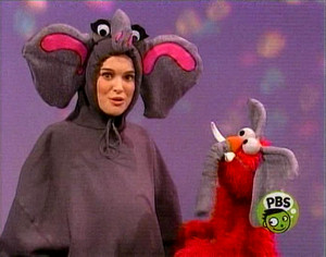 Elmo as an Elephant (Sesame Street)