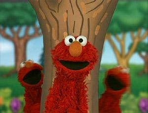 Elmo(s) Playing Tag (Elmo's World)