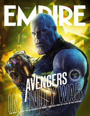 Empire's Avengers: Infinity War Covers