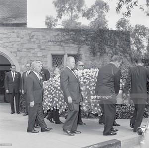 Errol Flynn's Funeral Back In 1959