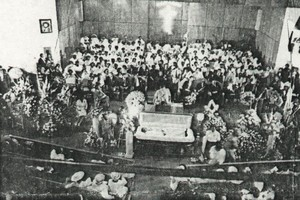 C. L. Franklin's Funeral In 1984