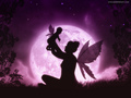 Fairy Mother and Child - magical-creatures wallpaper