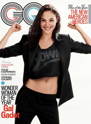 Gal Gadot - GQ Cover - 2017