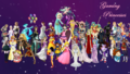 Gaming Princesses - video-games wallpaper