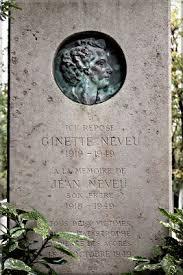 Ginette Neveu grave