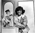 Gladys Knight 1980 The Muppet Show  - the-80s photo