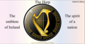 Gold Harp, National Symbol Of Ireland - ireland fan art