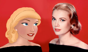Grace Kelly: Real Life and Animated