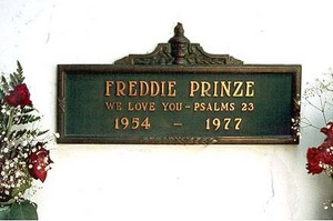 Gravesite Of Freddie Prinze