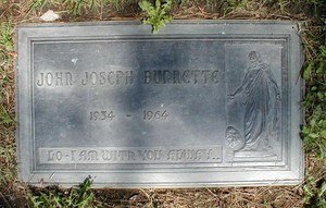 Gravesite Of Johnny Burnette