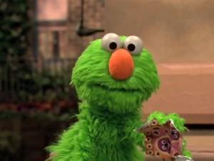 Green Elmo (Sesame Street)