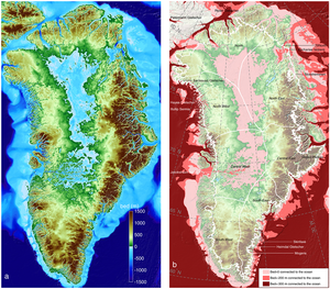 Greenland Ice Sheet Massive Meltdown