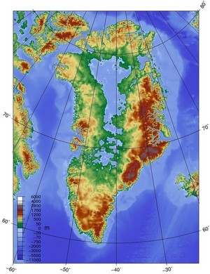 Greenland Without The Ice Sheet