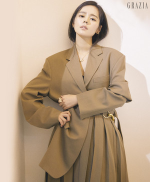 Han Ga In for Grazia 2018