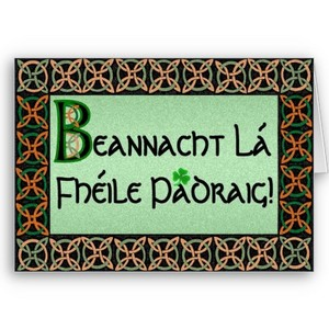 Happy St Patrick's Day!