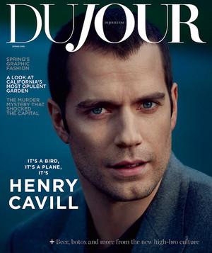 Henry Cavill - DuJour Cover - 2016