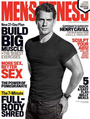Henry Cavill - Men's Fitness Cover - 2015