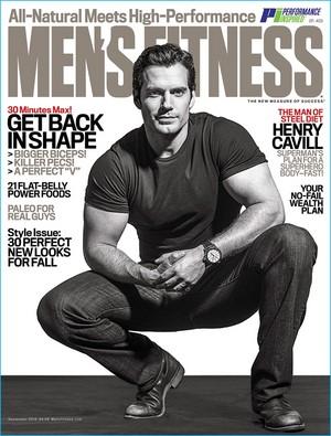 Henry Cavill - Men's Fitness Cover - 2016