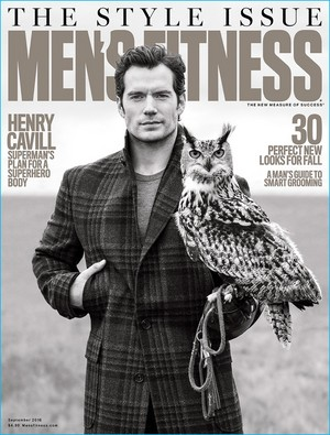 Henry Cavill - Men's Fitness Cover - 2016