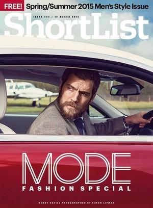 Henry Cavill - ShortList Cover - 2015