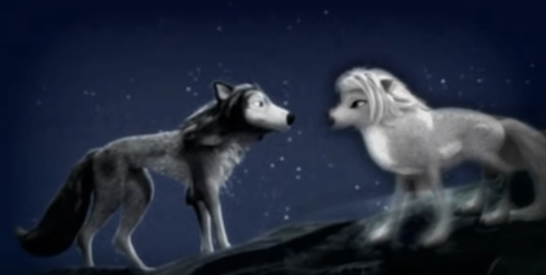 """Humphry from the movie """"Alpha and Omega"""" fondo de pantalla titled Humphrey and Lilly"""